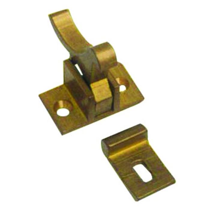 Brass Elbow Catch - White Water Marine Hardware