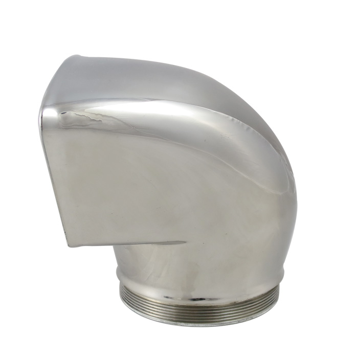 Stainless low profile cowl vent white water marine